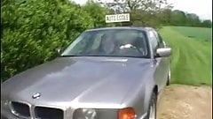 happy teacher of driving school