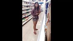 Grocery store masturbation-Caught