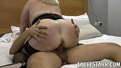 LACEYSTARR - Hooker GILF creampied by a fortunate customer's Thumb