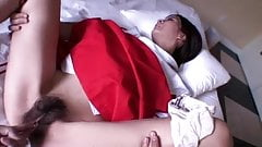 Saori Hairy Pussy Opens and Gets Fingered