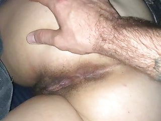 Playing with my hairy pawg wife