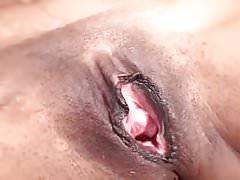 ethnic milf with small tits masturbates