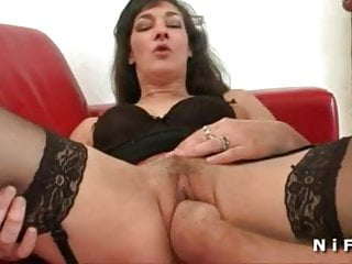 Amateur french whore anal fucked and fisted