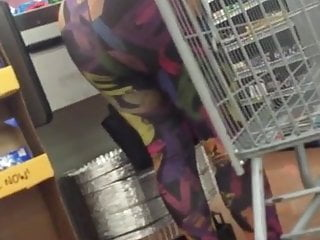 COLORFUL TIGHTS EBONY ASS 2