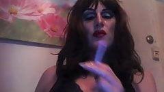 svart drag queen porno