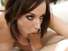 Brunette girl suck and fucked
