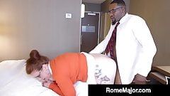 Black Bull Rome Major Fucks Geeky Girl Ginger Reigh!