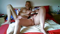 Amature couple hot spanking session
