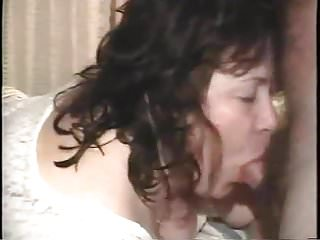 Mary enjoying John's cock and cum