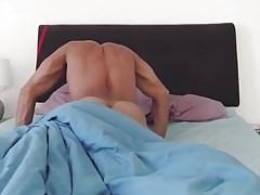 culeando en la cama