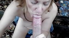 Patti wife blowjob