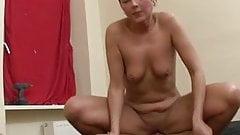 Dirty german short hair redhead fuck & squirt very strong