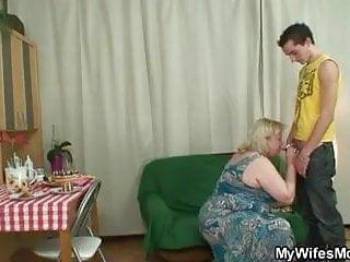 Lad fucks huge old not mother-in-law