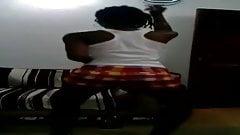 Ebony girl twerking