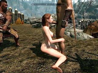 Perils Of Escaped Skyrim Slavegirl