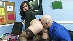 Big dick office porn