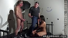 Old Movie director gets dirty in old and young scene
