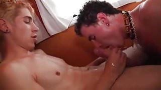 Guy Enjoys Friend's Creamy Cum Until His Dick Gets Soft