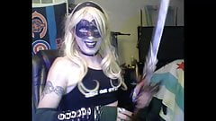 Hot Blonde Goth CD Strikes Again (full show)