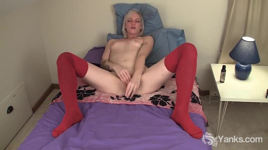 image Tattooed ari toying her trimmed pussy Part 7