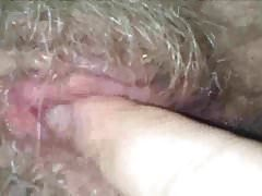 Me Licking Hairy Pussy Of My Granny
