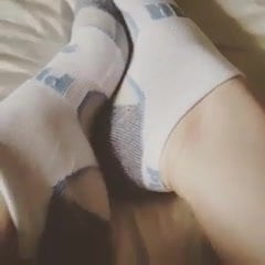 My Feet In Puma Socks