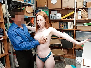 ShopLyfter - Redhead Teen Trades Sex for No Arrest