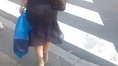 Transparent dress, Big Ass