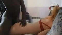 French babe interracial anal