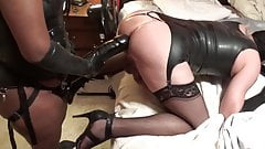 Miss Dicky and Her Anal Sissy Clip 4