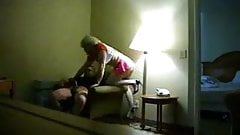 sissy boy in miniskirt suck cock in hotel room