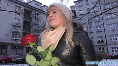 HornyAgent Valentines Day fuck with a stranger for blonde