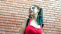 Harley Quinn twerking - Squad - cosplay