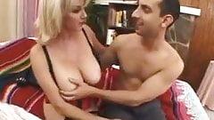 Blonde Milf Sucks & Gets Fucked