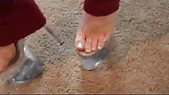 dancing in 8in stripper heels
