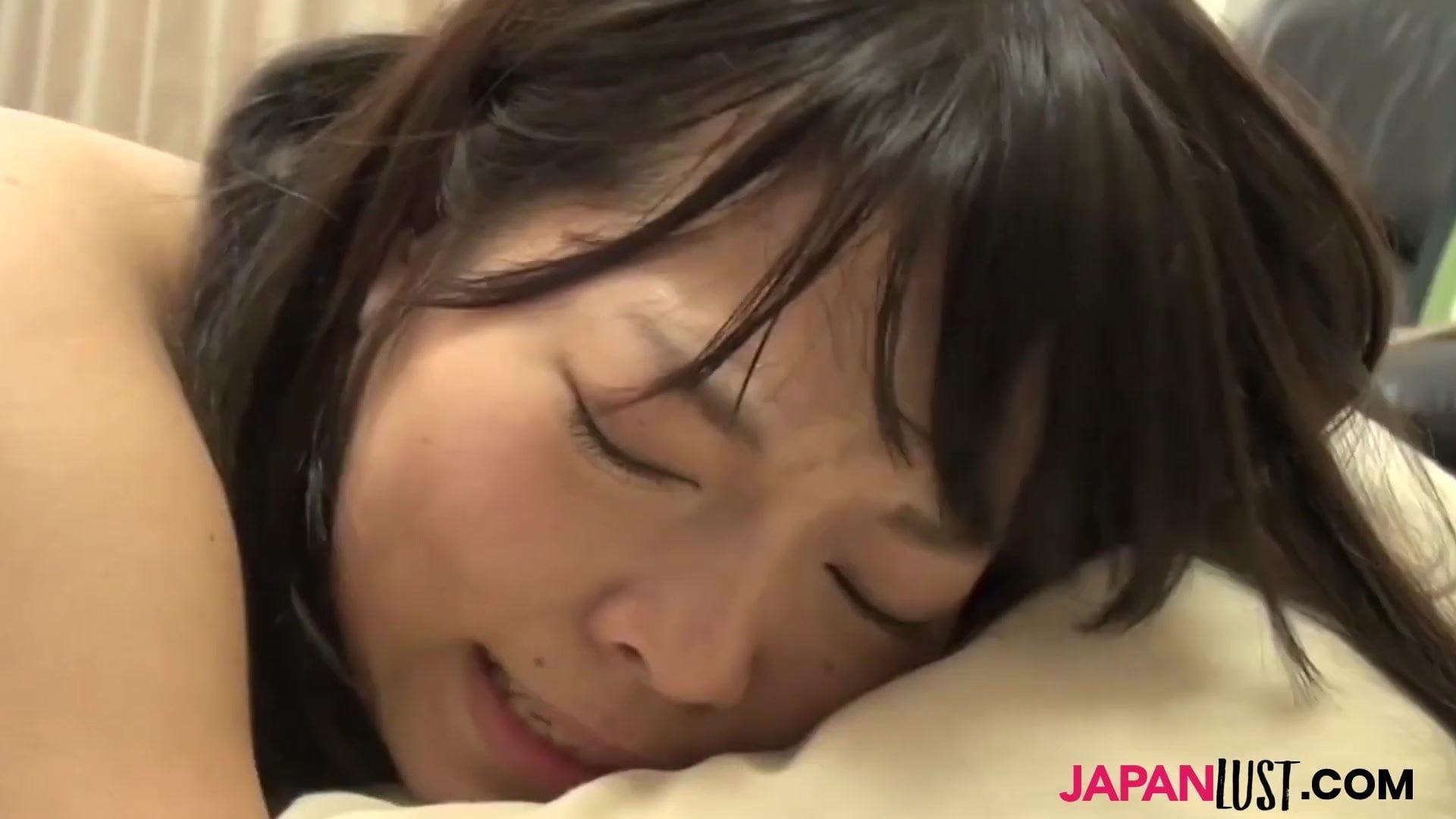 Teen Aya Sakai sucks cock before doggystyle sex