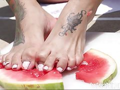 Orion Raye Foot Fetish Food Play XHAM.mp4
