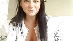 cute webcam brunette