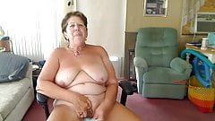 Masturbating Big Boob Granny Rock 'n Roll
