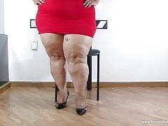 Ruby BBW Big Butt Mexican Latina's Thumb