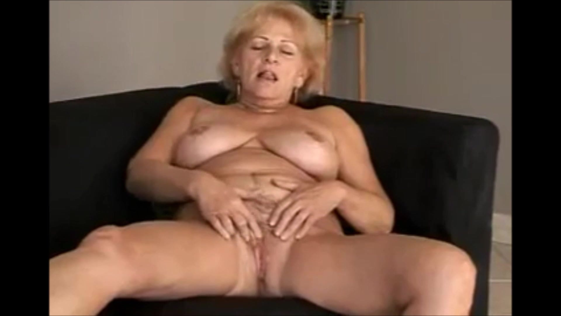 Young sally mature video at the sink