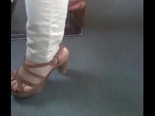 Candid Sexy Feet & Shoes collection
