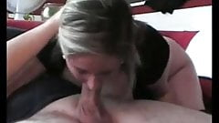Amateur German BBW Sucks and Fucks with Anal Creampie