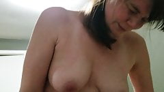 Wifes face orgasm with ohmibod, cock, and hitachi