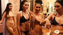 Thai Fashion show backstage