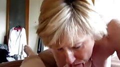 Check My MILF granny sucking husbands cock Jizz pie