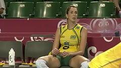 Brazilian Volleyball Players Amazing Cameltoe