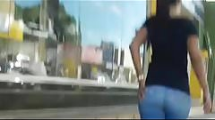 RABAO NO JEANS E LEGGING (BIG ASS IN JEANS ON A LEGGING) 280
