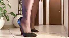 High Heels Training in my Corridor - Short