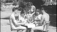 German Vintage Nudist Naturist From 1940's